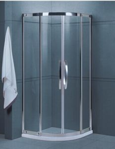 Bathroom Easy Clean Tempered Glass Shower Room (H001A) pictures & photos