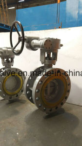 Pn64 High Pressure Butterfly Valve pictures & photos