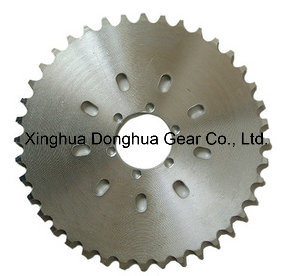 415 Sprocket Chain 40teeth Rear Sprocket for Motorized Bicycle pictures & photos