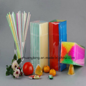 PVC Box Packed Flexible Drinking Straw (70320-1) pictures & photos