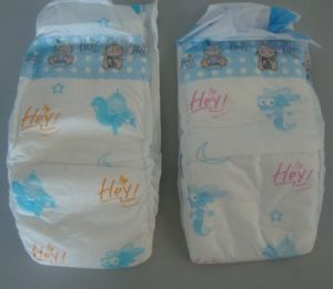 Disposable Natural Non Woven Baby Diapers pictures & photos