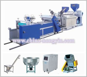 Vertical Plastic PP/PS Sheet Extruder Machinery (HY-670) pictures & photos