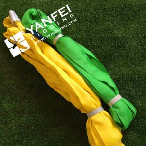2ton Green Polyester Endless Round Sling pictures & photos