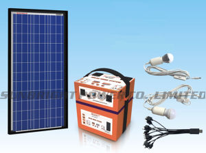 High Quality Mini Solar Generator Inverter Home System Es-40 pictures & photos