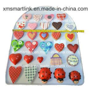 Handy Sculpture Heart Decoration Fridge Magnet pictures & photos