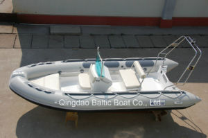 Rigid Hull Fiberglass Inflatable Boats 470 Ce pictures & photos