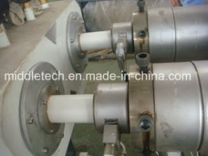 U-PVC Dual Pipe Extrusion Line pictures & photos