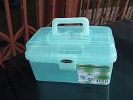 Green Plastic Transparent Tool Box (SF-G562) pictures & photos