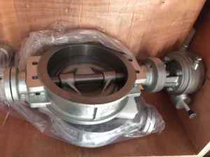 JIS 10k 300A Carbon Steel Wafer Butterfly Valve pictures & photos