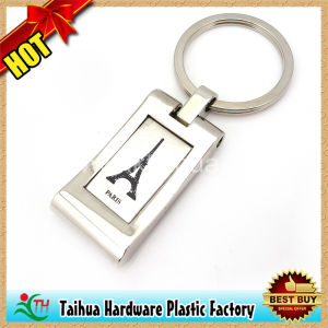 Rotate Aluminum Coin Metal Keychain (TH-mkc049) pictures & photos