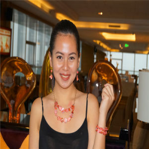 Fashion Resin Multilayers Beads Necklace with Earrings and Bracelet Jewelry Sets pictures & photos