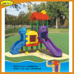 Fashion Colorful Outdoor Plastic Playground Equipment