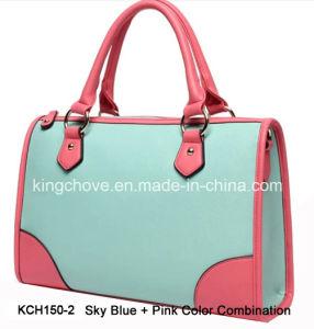 Latest Elegant Fashion Ladies Tote Handbag (KCH150-2) pictures & photos