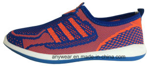 Men Sports Shoes Knitting Upper (815-9685) pictures & photos
