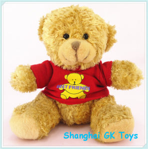 Cute Teddy Bear with Cloth Plush Toy pictures & photos