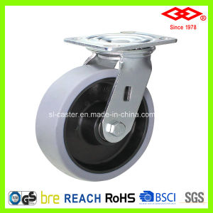 160mm Swivel Plate TPR Heavy Duty Castor Wheel (P701-34D160X45) pictures & photos