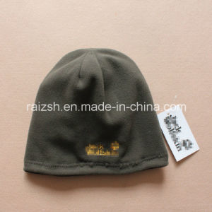 Outdoor Travel Mountain Climbing Double-Knit Fleece Hat pictures & photos