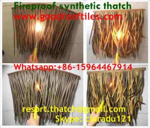Fireproof Synthetic Thatched Roof Artificial Thatch pictures & photos