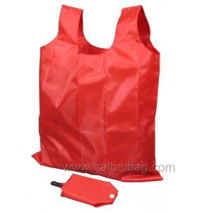 Portable Nylon Folding Bag, Foldable Shopping Bag (HBFB-37) pictures & photos