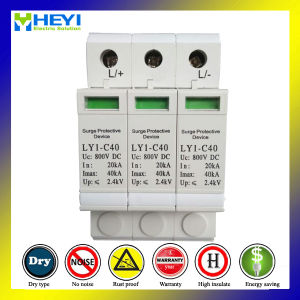 Ly7 Photo Voltaic Surge Arrester PV Lightning Arrester 500V AC pictures & photos