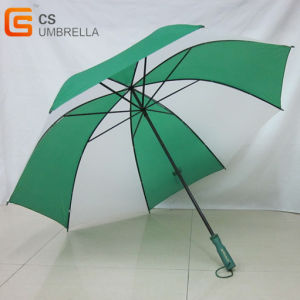"29"" Large Golf Umbrella with Double Ribs pictures & photos"