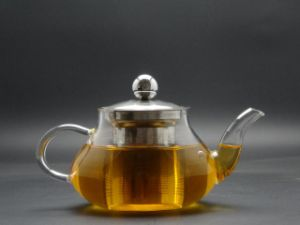 Round Glass Tea Pot, OEM New Design Oriental Style Tea Pots pictures & photos