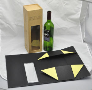 Flat Pack Cardboard Folding Wine Box