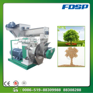 Horizontal Ring Die Pellet Fuel Extruder pictures & photos