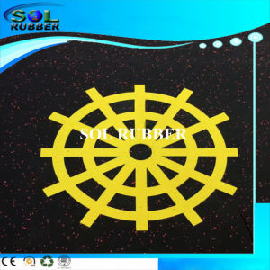 High Quality New Pattern Roll Commercial Rubber Flooring pictures & photos