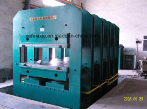 China Hot Sale Rubber Vulcanizer Plate Vulcanizing Press Machine Rubber Machine Mixing Mill pictures & photos