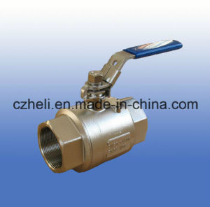 Stainless Steel 2PC Light Full Port Ball Valve Pn64 1000wog Hv-22 pictures & photos
