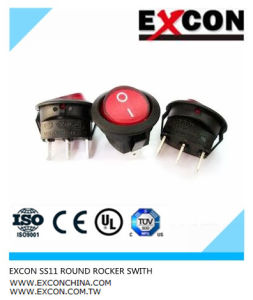 Excon Ss11 Square Boat Rocker Switch Push Switch pictures & photos