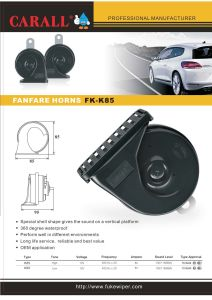 Car Horn Speaker pictures & photos