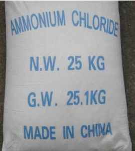 Industrial Grade Ammonium Chloride (NH4CL) 99.5% Min pictures & photos