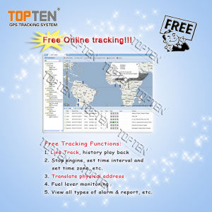 Free Tracking Ts03 GPS Tracking Positioning Software Platform Ts03-Kw pictures & photos
