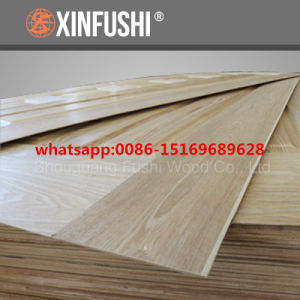 MDF/HDF Moulded Melamine /Wood Veneer Door Skin pictures & photos