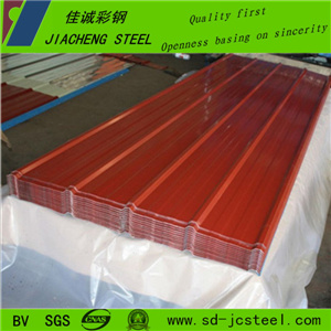 China Cheap Colored Corregated Sheet for Roof
