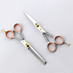 105-S 2016 New Beautiful Design to Celebrate Christmas Hair Scissors pictures & photos
