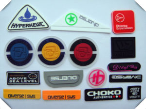 China Rubber Label Felt Label Pvc Silicon Badge For