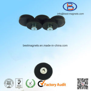 Direct Factory Original Supplier of D22 Rubber Coating Disc Magnet Pot/Gripper pictures & photos