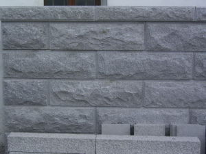 G654 Granite Mushroom Wall Stone pictures & photos