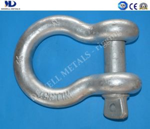 Hot Dipped Galv. Us Type Drop Forged G209 Anchor Bow Shackle pictures & photos