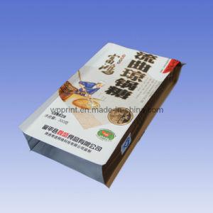 China Design Gusset Backside Sealed Sugar Bag