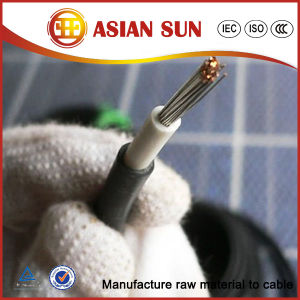 High Quality TUV Approved Single Core DC Solar Cable 4mm2 pictures & photos