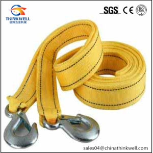 High Strength Winch Strap with Tow Hook pictures & photos