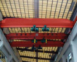 Double Hoist Single Girder Overhead Crane for Utility Pole pictures & photos