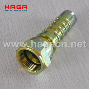 Jic Female Fitting 74 Degree Cone Seat (P26713) Hydraulic Hose Fitting pictures & photos