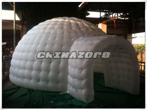 White Color Non-Transparent Inflatable Bubble Tent Inflatable Dome