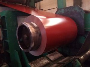 Cold Rolled 0.14mm-0.8mm Color Coated Galvanized Steel Coil PPGI pictures & photos