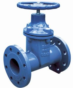 Ductile Iron Ggg50 Resilient Seat Pn16 BS5163 Gate Valve